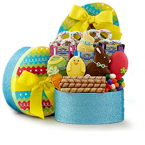 Customers can deliver Easter treats to anyone they love in 180 countries. (PRNewsFoto/GiftBasketsOverseas.com) (PRNewsFoto/GIFTBASKETSOVERSEAS_COM)