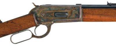 The antique rifle remains in excellent condition at 130 years old.