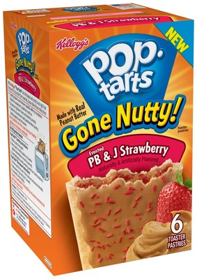 Frosted PB&J Strawberry Pop-Tarts(R)