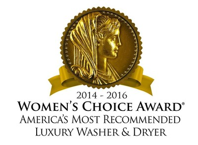 Speed Queen(R) Named America's Most Recommended(TM) Brand by Women
