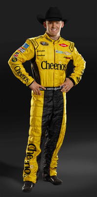 Cheerios announced its sponsorship of NASCAR driver Austin Dillon in his move to the NASCAR Sprint Cup Series in 2014 driving the No. 3 Chevrolet for Richard Childress Racing (RCR).  The announcement was made at RCR headquarters in Welcome, N.C., on Dec. 11, 2013.  (PRNewsFoto/General Mills Inc.)