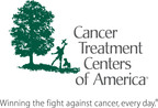 Cancer Treatment Centers Of America logo. (PRNewsFoto/CANCER TREATMENT CENTERS OF AMERICA)