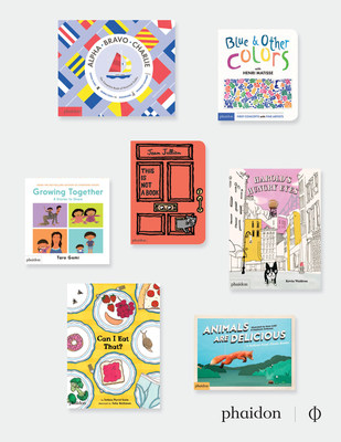 Phaidon's lineup of children's books for the spring season features books from bestselling authors and exciting new talent.