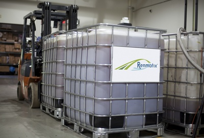 Kennesaw, Georgia demonstration facility is currently converting up to three dry tons of woody biomass to sugar per day.  (PRNewsFoto/Renmatix)