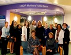 Dr. Diane Spatz and her team open The CHOP Mothers' Milk Bank.
