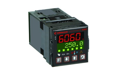 The Chromalox model 6060 controller offers such features as two PID sets, multiple inputs and outputs, heat/cool operation, soft start function, self-tuning startup, and optional Modbus/RTU RS485 communications.