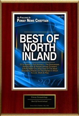 "Poway Dermatology Selected For ""Best Of North Inland"""