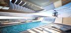 Oceanco unveils 110m superyacht project STILETTO at the 2015 Dubai Boat Show.
