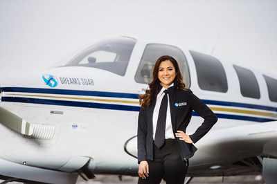 """Capt. Shaesta Waiz will take off later this summer on her """"Dreams Soar"""" solo round-the-world flight, """"to reach out to the younger generation and show them they can do anything they set their minds to."""""""
