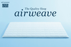 airweave premium bedding topper.  (PRNewsFoto/airweave)