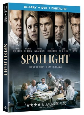 From Universal Pictures Home Entertainment: Spotlight