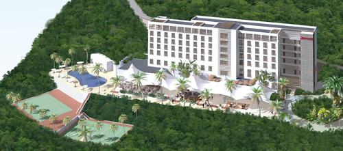 In Haiti, Digicel and Marriott Break Ground on More than Just a Hotel.  (PRNewsFoto/Marriott International, Inc.)