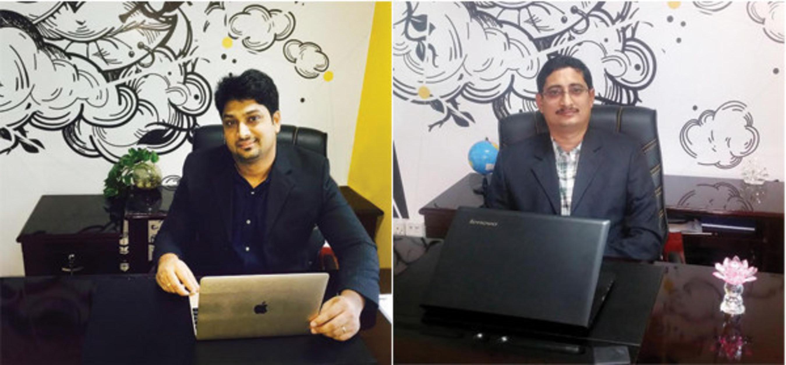 Mr. Shashank Panchmukh and Mr. Praveen Chandrasekharan (PRNewsFoto/Menakart)