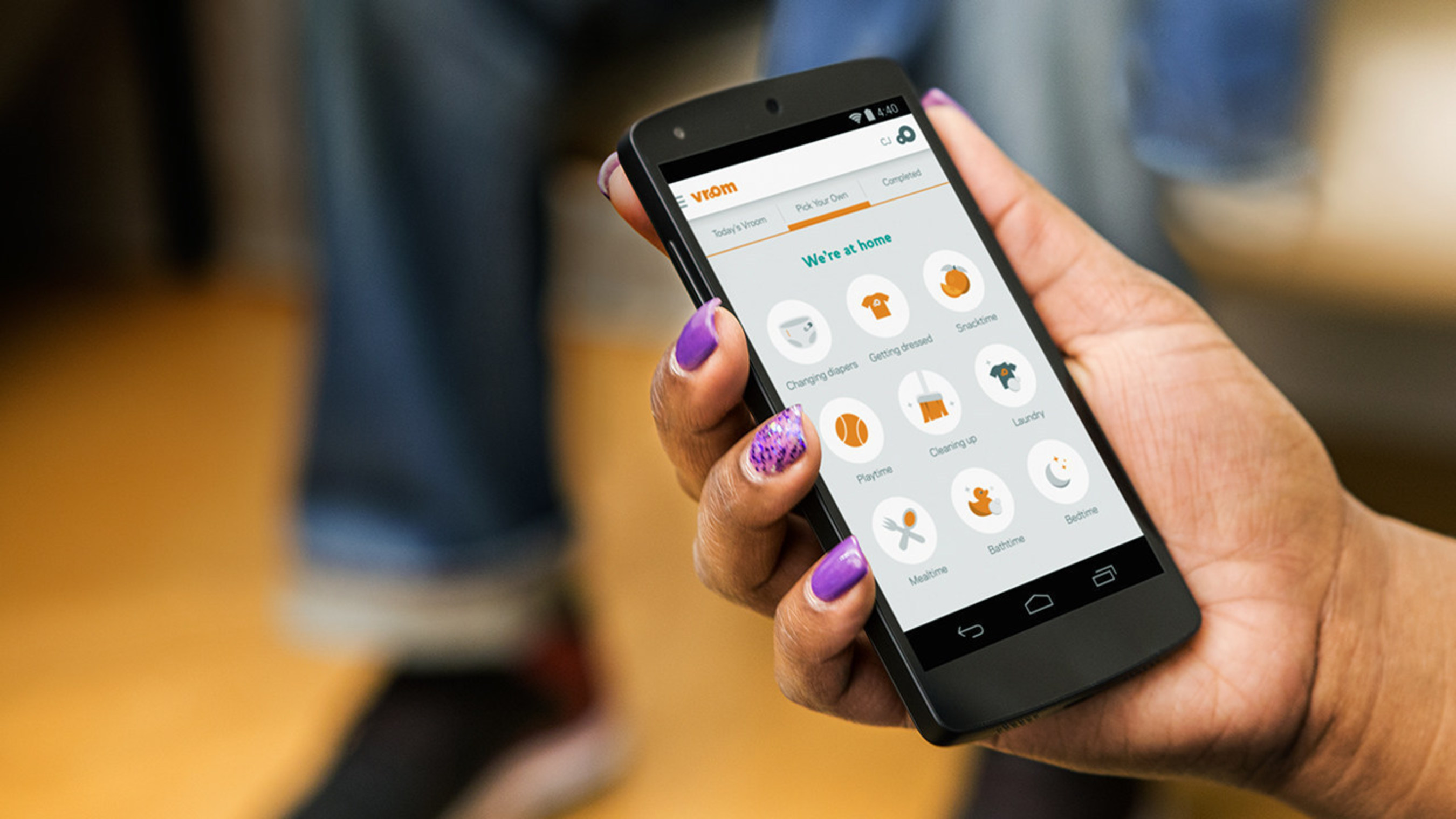 Vroom Mobile Daily App, app voor ouders, gezinnen met jonge kinderen nu internationaal beschikbaar