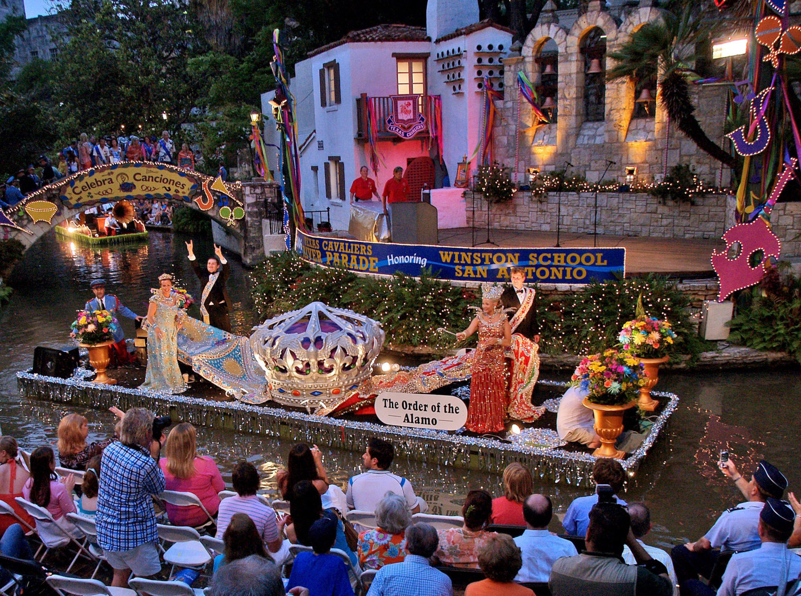 San Antonio kicks off Fiesta with 11 days of culture, charity and fun. With more than 110 events, 52 stages, 35 concerts, 33 food events and 14 parades, Fiesta has something for every visitor. (PRNewsFoto/San Antonio Convention & Visitors Bureau)