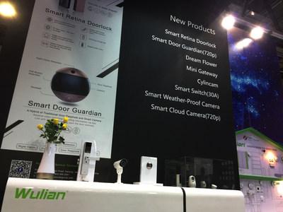 Wulian Booth at GITEX Dubai
