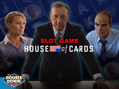 IGT launches House of Cards Slots on DoubleDown Casino