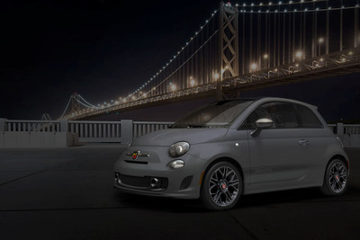 "Fiat 500 Abarth ""Tenebra"" design concept will debut at the 2013 North American International Auto Show. The vehicle emphasizes the unique personality of the Fiat 500 Abarth.   (PRNewsFoto/Chrysler Group LLC)"