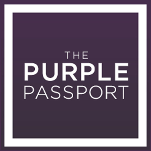 The Purple Passport Logo, Los Angeles, CA. (PRNewsFoto/The Purple Passport)