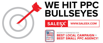 SalesX recently nominated for Best Local Campaign and Best Small PPC Agency by US Search Awards