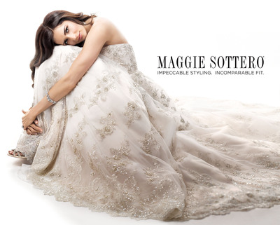 Maggie Sottero. Impeccable Styling. Incomparable Fit.  (PRNewsFoto/Maggie Sottero Designs)