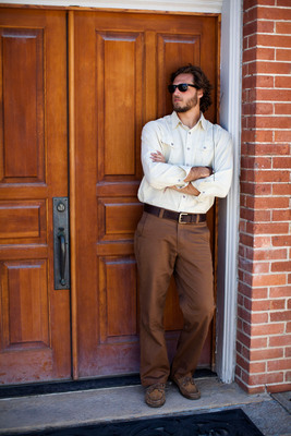 Are Khakis the Male Style Equivalent of the Little Black Dress? According to a new survey from apparel brand Mountain Khakis, khakis deliver the same confidence and versatility for men as the LBD does for women. Khakis may also be the man's version of a shoe addiction: More than one-quarter of respondents reported owning seven or more pairs of khakis, and more than half reported owning five or more pairs.  (PRNewsFoto/Mountain Khakis)