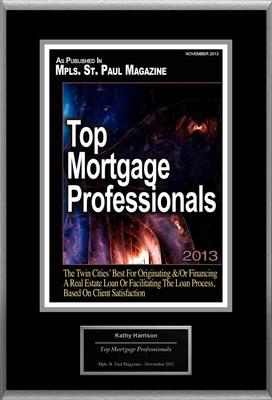 "Kathy Harrison Selected For ""Top Mortgage Professionals"". (PRNewsFoto/American Registry) (PRNewsFoto/AMERICAN REGISTRY)"