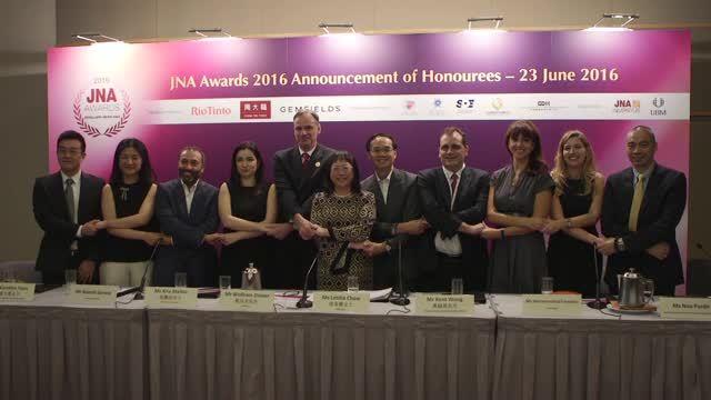 Chow Tai Fook, Gemfields and Rio Tinto Diamonds support JNA Awards 2016