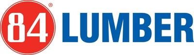 84 Lumber logo. (PRNewsFoto/84 Lumber Company)