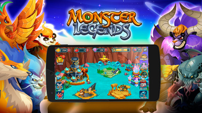 Monster Legends is exceeding all growth estimates (PRNewsFoto/Social Point)