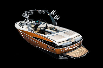 GO BIGGER THAN EVER BEFORE WITH THE NEW MALIBU WAKESETTER 25 LSV