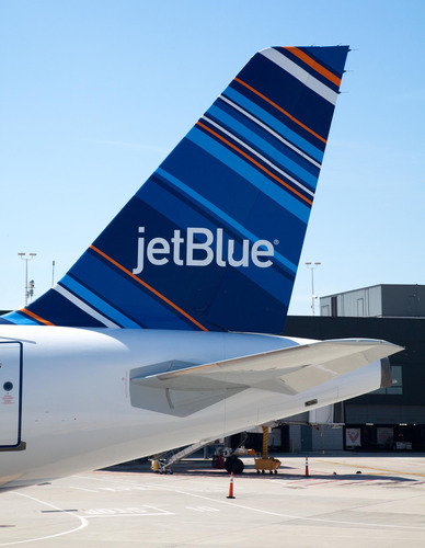 JetBlue Airways Welcomes Aircraft Named 'All Blue Can Jet,' Introducing Latest Livery Design to the