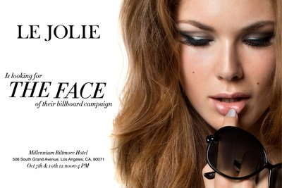 LeJolie begins their model search for the new Fresh Face TODAY with Style Fashion Week! (PRNewsFoto/LeJolie.com)