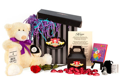 Valentine's Day Gift - Ultimate Hugs Package from The Serious Teddy Bear Company.  (PRNewsFoto/The Serious Teddy Bear Company)