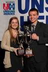 McCormick honors Claire Ford of Notre Dame Prep and Matt Stambaugh of Eastern Technical High School (PRNewsFoto/McCormick & Company, Inc.)