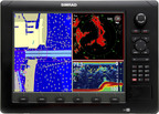 C-MAP MAX-N is now compatible with the Lowrance Elite-7, HDS Gen1, Gen 2 and Gen2 Touch; Simrad NSS, NSE (pictured) and NSO; as well as the B&G Zeus Touch.  (PRNewsFoto/Jeppesen/Navico)