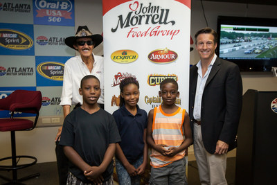 John Morrell Food Group, Arby's and Richard Petty Motorsports Partner to Support No Kid Hungry (PRNewsFoto/John Morrell Food Group)
