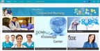 OCNE's Jive-powered Connected Nursing community homepage
