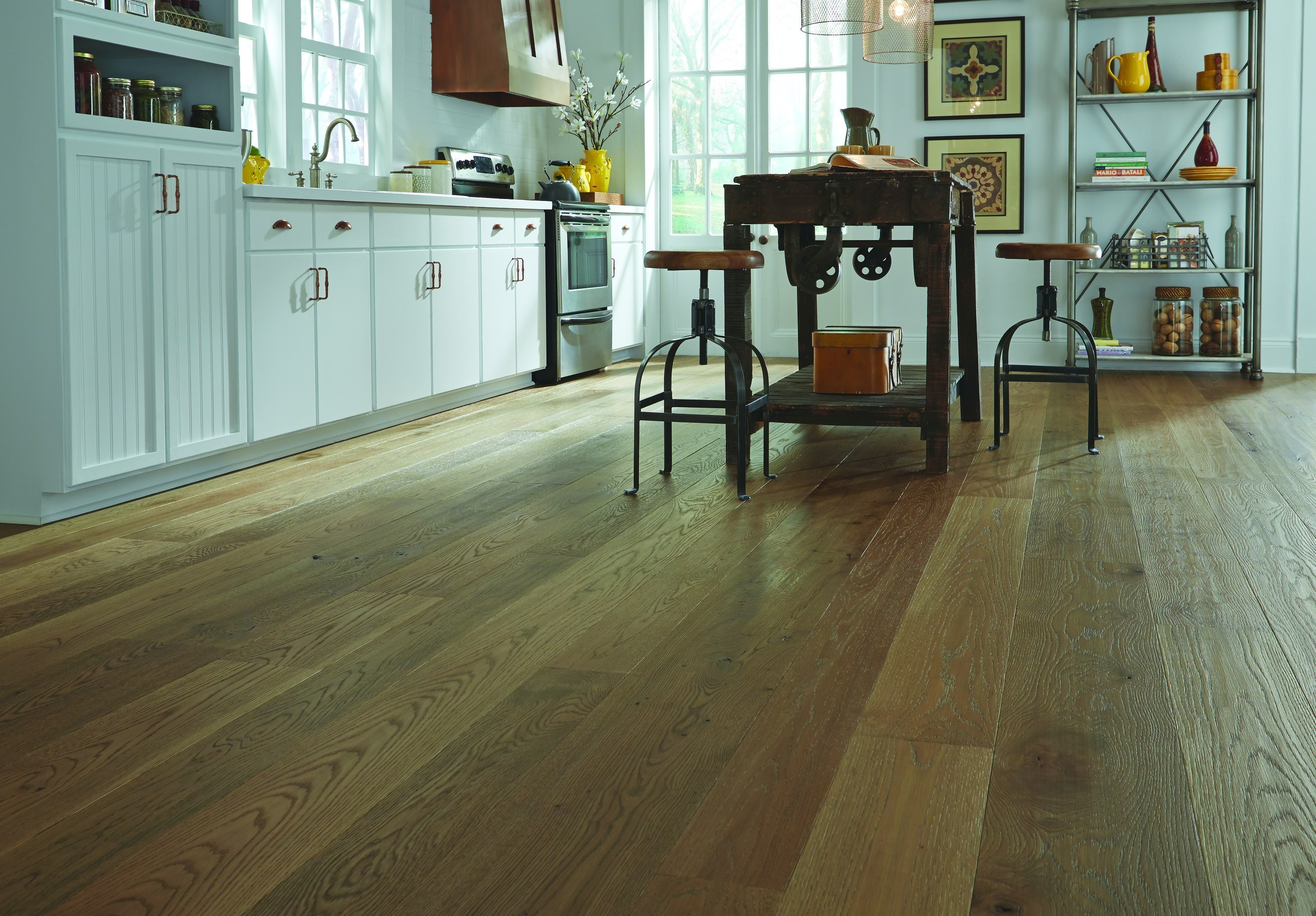 """""""Baled Hay"""" From Carlisle Wide Plank Floors' New Farmhouse Collection"""