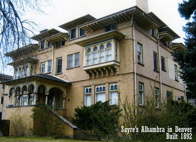 History Colorado State Historical Fund grants offer nonprofit organizations the opportunity to direct their funding toward a specific mission�like the Providence Network, which operates out of Denver's historic 1892 Sayre's Alhambra building. (PRNewsFoto/History Colorado)