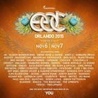 Insomniac Reveals Incredible Artists Performing at 5th Annual Electric Daisy Carnival, Orlando on Saturday, November 6 and Sunday, November 7, 2015 at Tinker Field