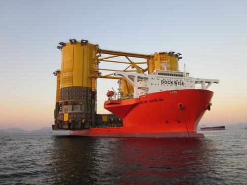 Shell's Olympus Hull Departs South Korea