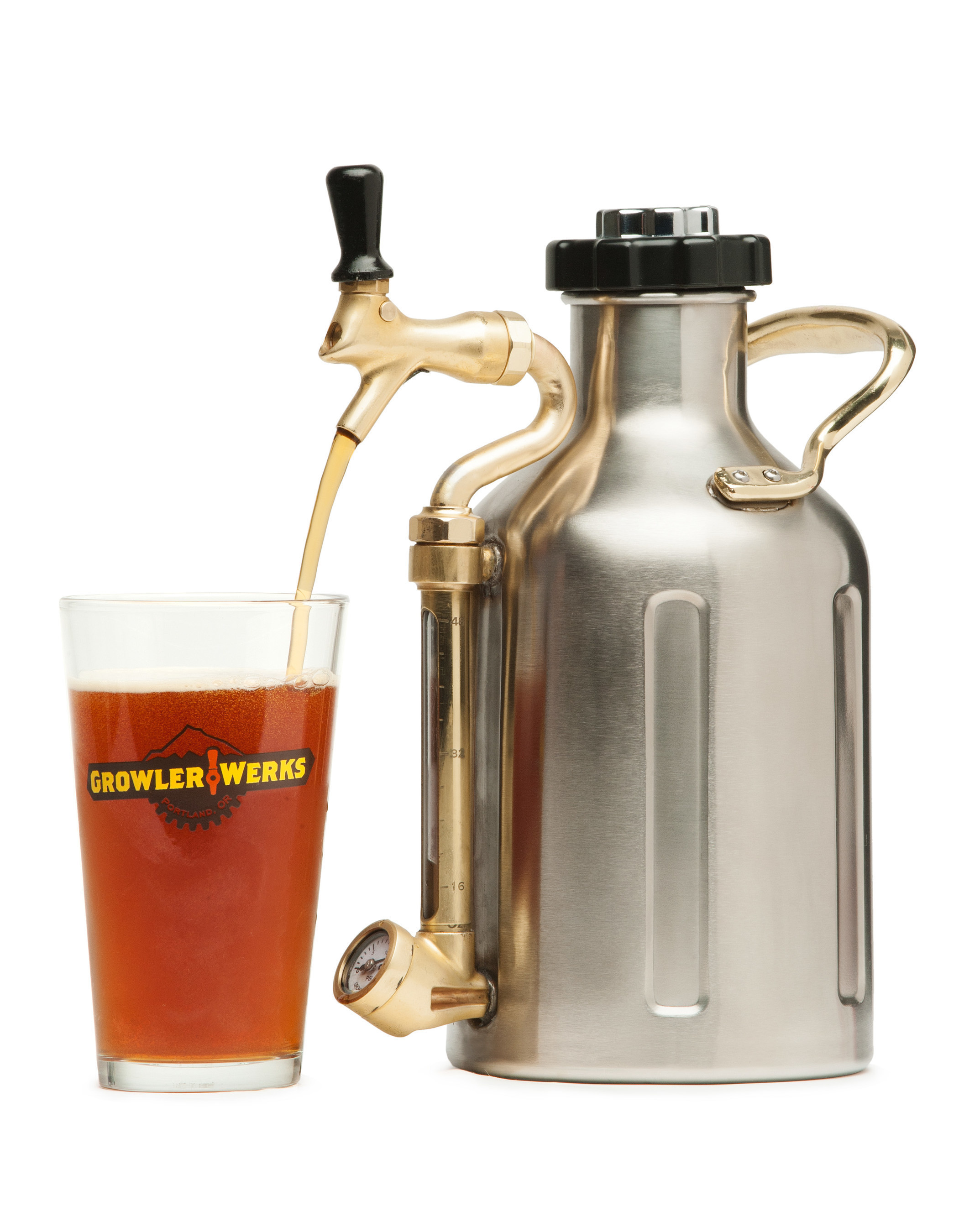 GrowlerWerks' uKeg keeps beer fresh from the first to last pour.
