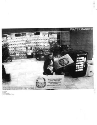 Mock surveillance of Giant Eagle Price Lock Team.  (PRNewsFoto/Giant Eagle)