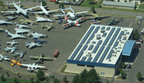 Large Solar PV Project for the Aerospace Museum of California in McClellan.  (PRNewsFoto/Motech Americas, LLC)