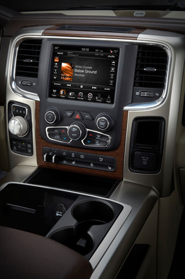 Uconnect Access lauded for user-friendly design.  (PRNewsFoto/Chrysler Group LLC)
