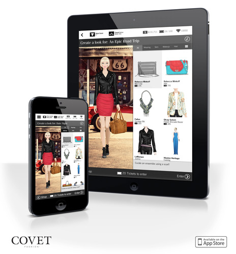 Rachel Zoe Partners With Covet Fashion The Newest Mobile Fashion App