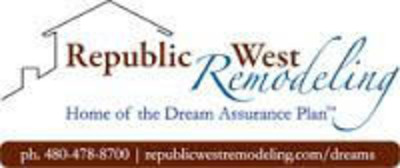 Phoenix Home Remodeling Company, Republic West Remodeling.  (PRNewsFoto/Republic West Remodeling Inc.)