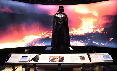 FINAL WEEKS! SEE STAR WARS and THE POWER OF COSTUME THE EXHIBITION at Discovery Times Square located at 226 West 44th street in Manhattan NYC.