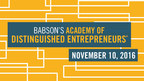 Babson College Inducts Care.com Founder and TripAdvisor CEO and Co-Founder Into Academy Of Distinguished Entrepreneurs®